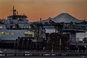 ferry Mt Rainier