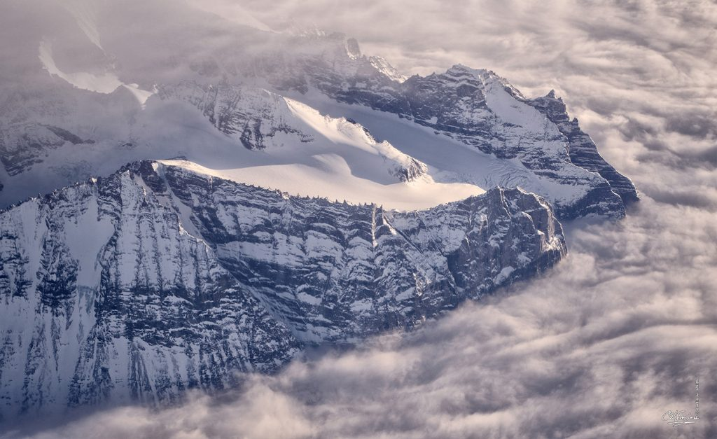 Mountains in Greenland, Earth