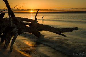Saltair beach sunrise, Kingston, Washington