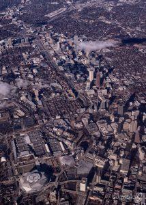 Atlanta aerial panorama
