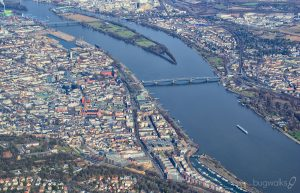 Mainz Germany aerial