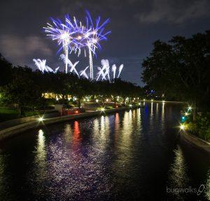 Disney's Epcot fireworks 2