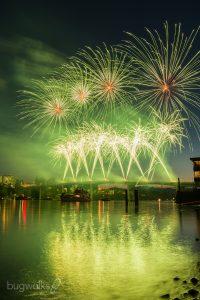 Manette Bridge fireworks 2019 4