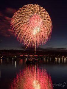 3rd of July 2018 fireworks in Poulsbo 2